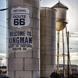 On Route 66 in Kingman Arizona by Priscilla Burgers