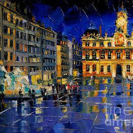 Mona Edulesco - One Evening In Terreaux Square Lyon