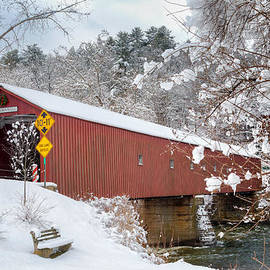 One Lane Bridge by Bill Wakeley