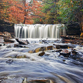 Oneida Waterfall by Marcia Colelli