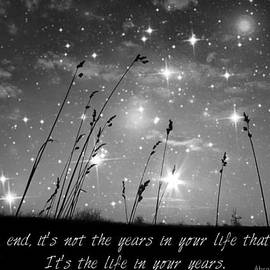 Only The Stars And Me...in The End... by Marianna Mills