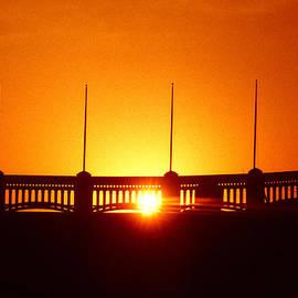 1976 Yankee Stadium Opening Day Sunrise by Ross Lewis
