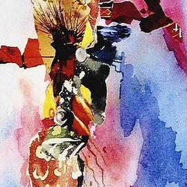 JAXINE Cummins - Orange Abstract