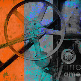 Ann Powell - Orange and Blue