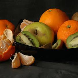 Guido Strambio - Orange and green