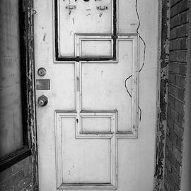 Urban Art Door  by Kathy Barney