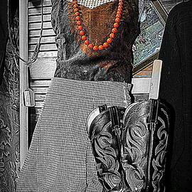 Kathy Barney - Vintage Orange Necklace