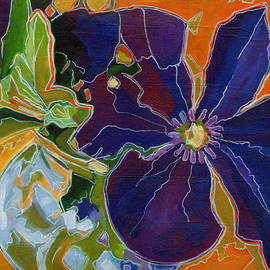 Tanya Filichkin - Orange Purple and Lime Green