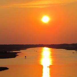 Cynthia Guinn - Orange Sunset