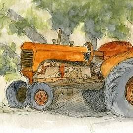 David King - Orange Tractor