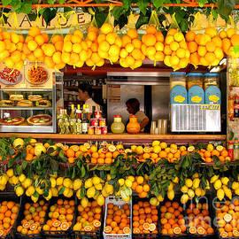 Jennie Breeze - Oranges in Pompei