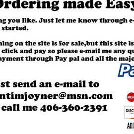 Ordering by Tim  Joyner