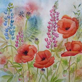 Carla Parris - Oriental Poppies Meadow