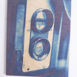 Original - Vintage Camera on Wood by Edward Fielding