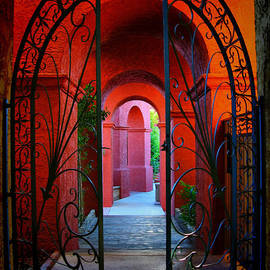 Amy Cicconi - Ornate Gate to Red Archway