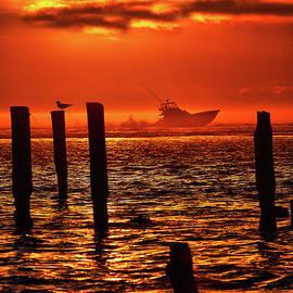 Dan Carmichael - Out to Sea at Sunrise - Outer Banks I