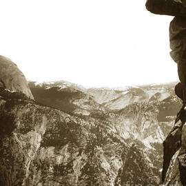 Overhanging Rock Yosemite California by Joseph LeConte 1900 by California Views Archives Mr Pat Hathaway Archives