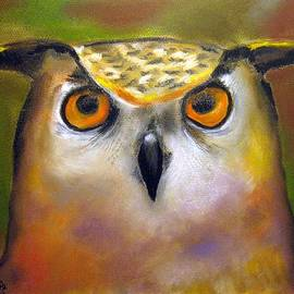 Rosa Garcia Sanchez - Owl in the forest