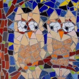 Lou Ann Bagnall - Owl Mosaic
