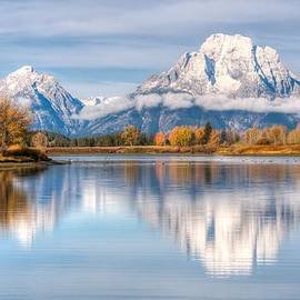 Kristina Rinell - Oxbow Bend Reflections