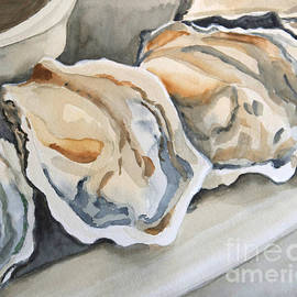 Oysters by Jeanne  Woods