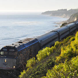 Pacific Surfliner Along The Central Coast by Kyle Hanson