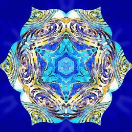 Painted Lotus Xviii by Derek Gedney