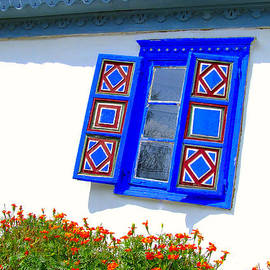 F Istvan - Painted Windows Traditional House
