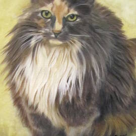 Painting of Shelby by Lenore Senior