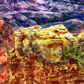 Painting of the Grand Canyon by Bob and Nadine Johnston