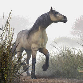 Daniel Eskridge - Pale Horse in the Mist