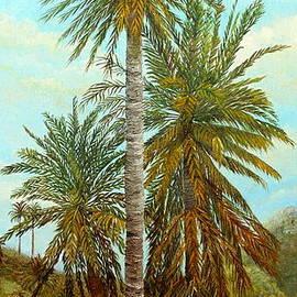 Angeles M Pomata - Palm Trees