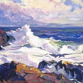 Palos Verdes Surf by David Lloyd Glover