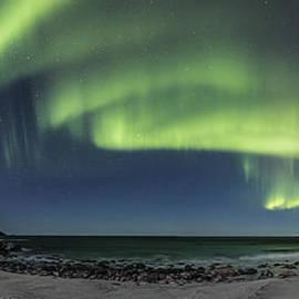 Frank Olsen - Panorama of Auroras