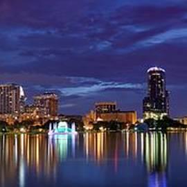 Silvio Ligutti - Panorama of Downtown Orlando