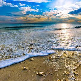 Eszra Tanner - Panoramic Beach Sunset