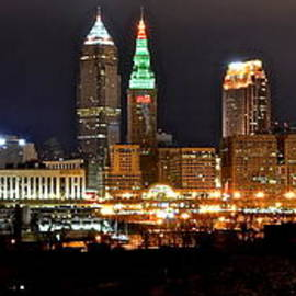 Panoramic Cleveland by Frozen in Time Fine Art Photography