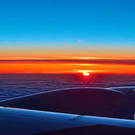 Panoramic Sunrise by Norman Gabitzsch