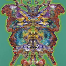 Papalotl Series Vlll by Ricardo Chavez-Mendez