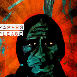 Papers Please by Michelle Dallocchio