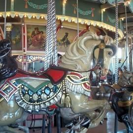 Paragon Carousel Nantasket Beach by Barbara McDevitt