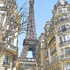 Eiffel Tower by Phil Robinson