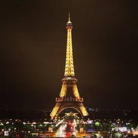 #paris #france #night #lights