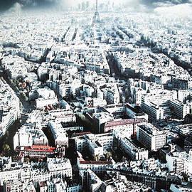 Paris network by Kim Lessel