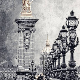 Paris pompous 2 by Joachim G Pinkawa
