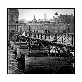 Paris Pont des Arts. by Cyril Jayant