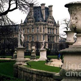 Paris Louvre Tuileries Park - Jardin des Tuileries Garden - Paris Landmark Garden Sculpture Park by Kathy Fornal