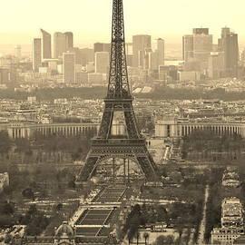 Paris Vista by David Broome