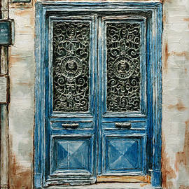 Parisian Door No. 110 by Joey Agbayani