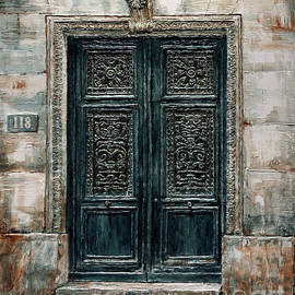Parisian Door No. 118 by Joey Agbayani
